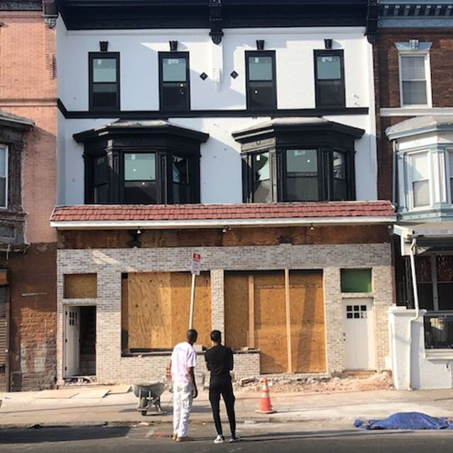 Before and after ? can't wait to see it finished!  #financedbydirect #directmortgageloanco #easeandspeed #softhardmoney #phillyrealestate #realestateinvesting #clientsuccess