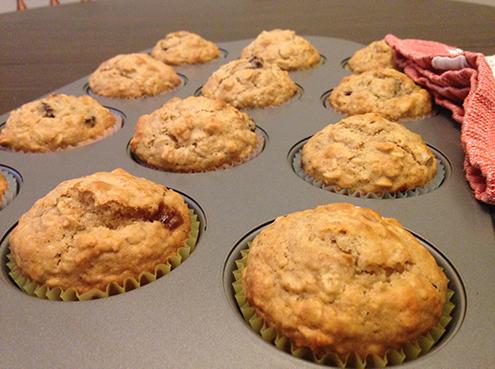 Cranberry Burl Muffins -