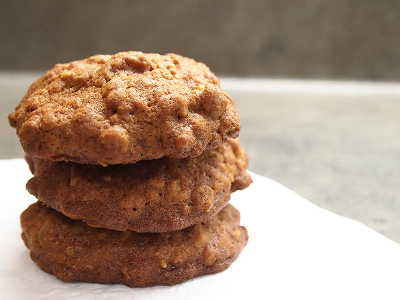 Maple Pecan Burl Cookies -