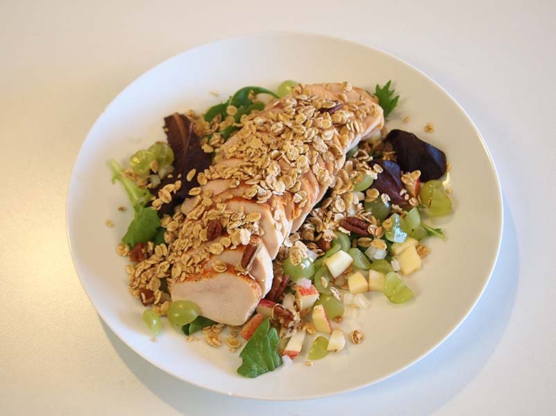 Chef's Tip: - Try it with smoked chicken breast.