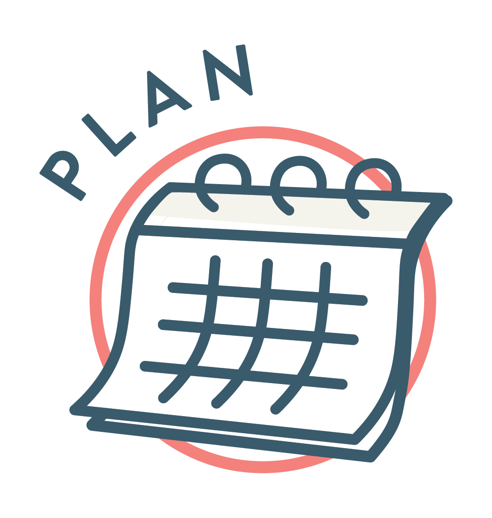 - Build a strategy and manageable calendar of content that connects to your target audience and helps you achieve your business goals.