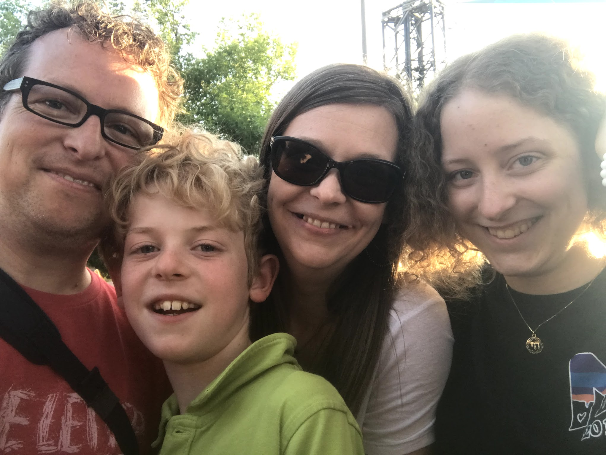 My amazing family. Noah (my awesome 11yo son), Kristi (Best. Wife. Ever.), & Hannah (the greatest 16yo daughter a guy could imagine).