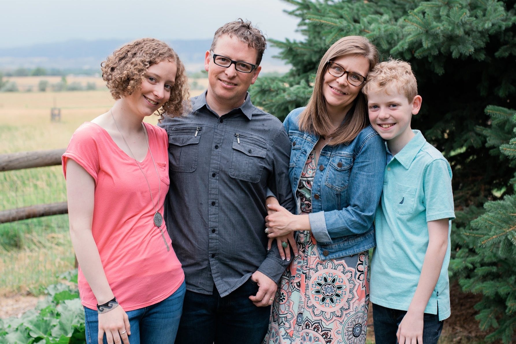 My amazing family: Hannah (the greatest 17yo daughter a guy could imagine), Kristi (Best. Wife. Ever.), me, & Noah (my awesome 12yo son).