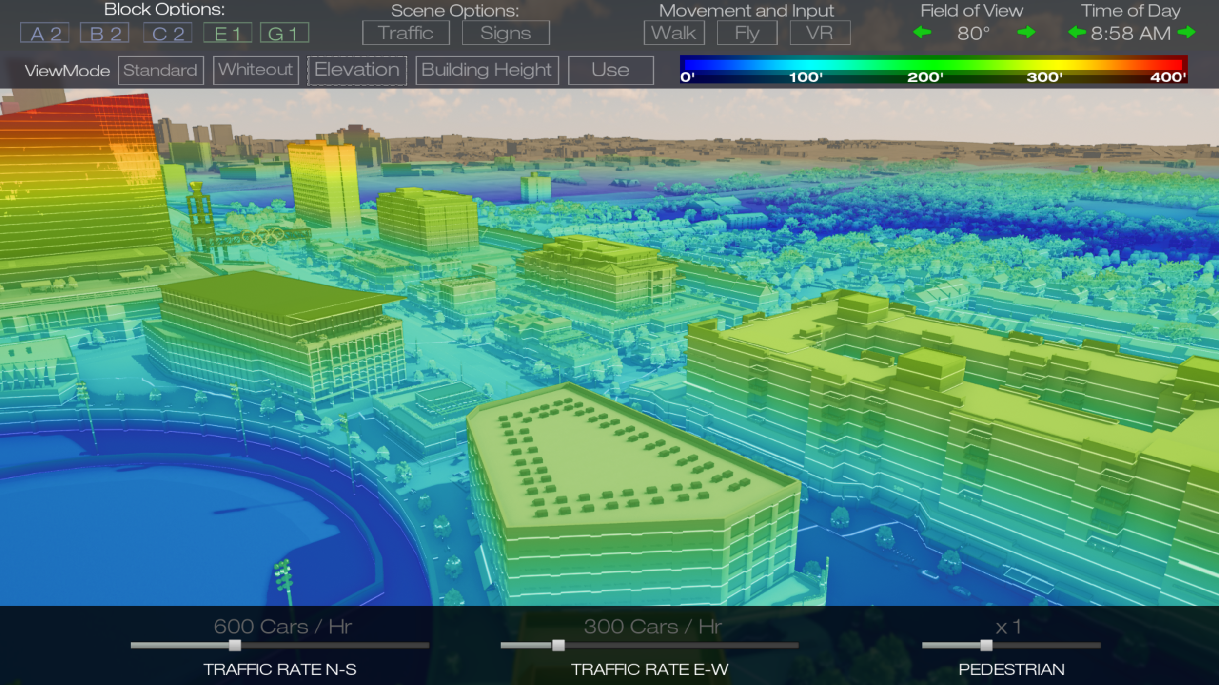 Real-Time Elevation Analysis