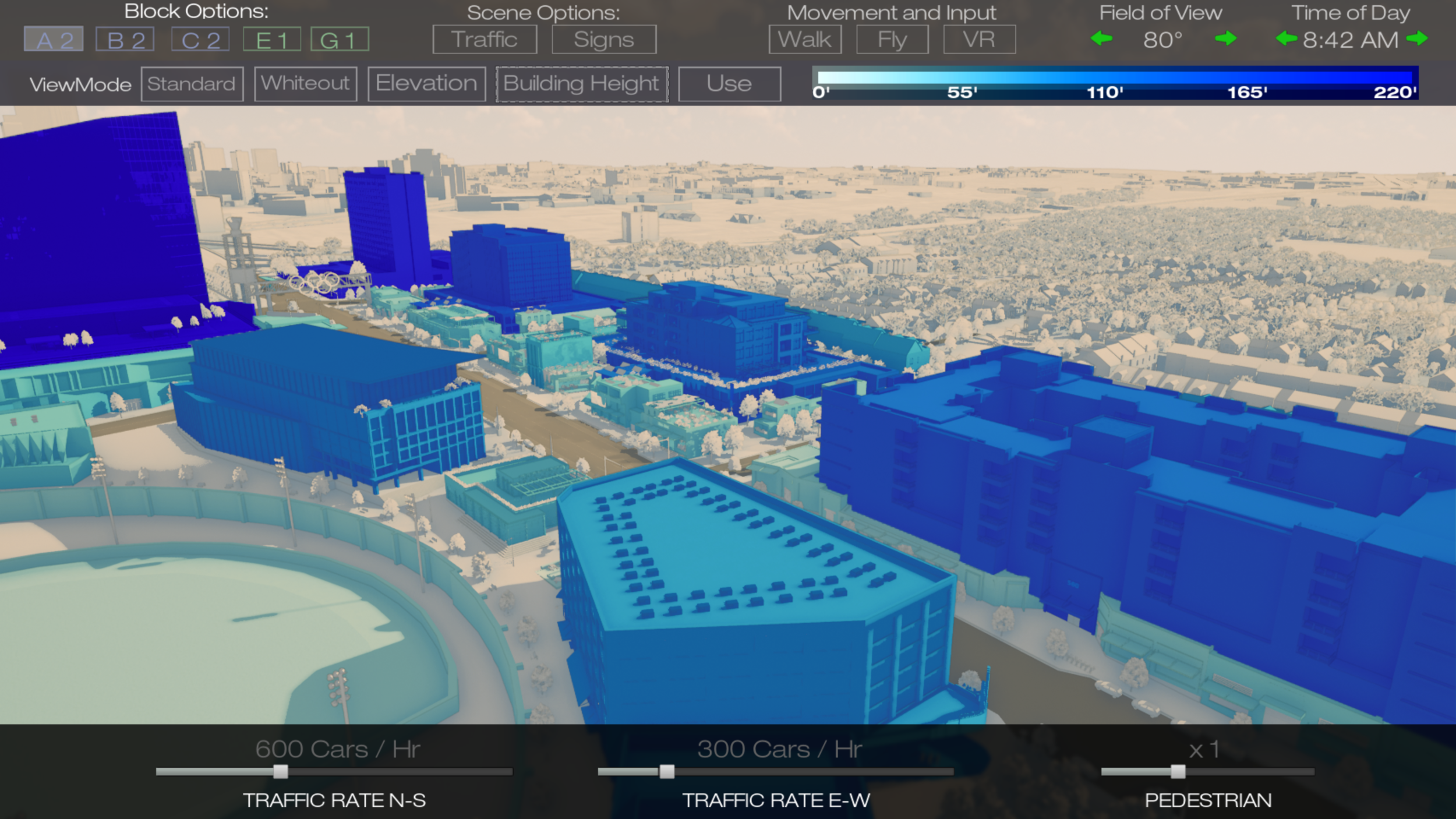 Real-Time Building Height Analysis