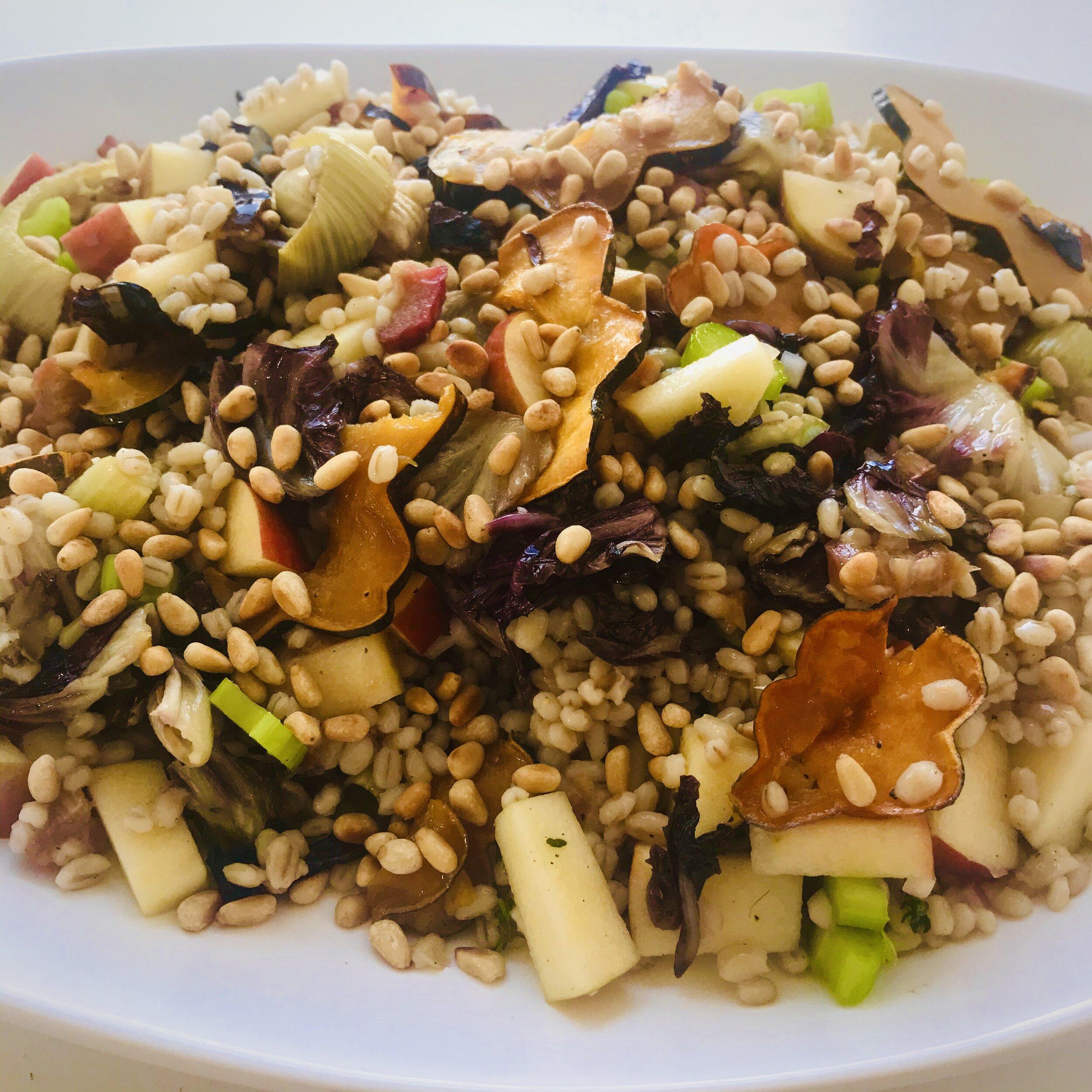 - Winter Rainbow Salad