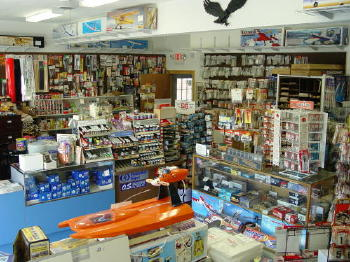 The hobby shop was filled with everything a boy growing up in the 1970's dreamt about.