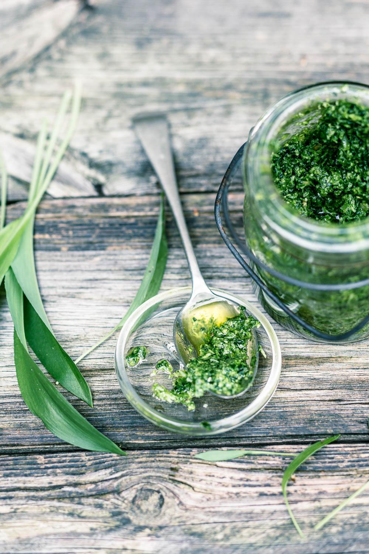 Bärlauchpesto - veggielicious | gemüse. fotos. rezepte.