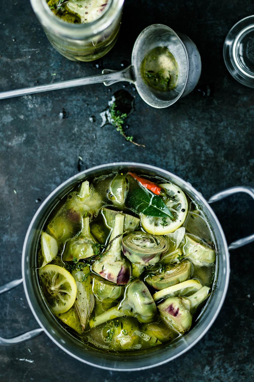 Artischocken einwecken - veggielicious | gemüse. fotos. rezepte.