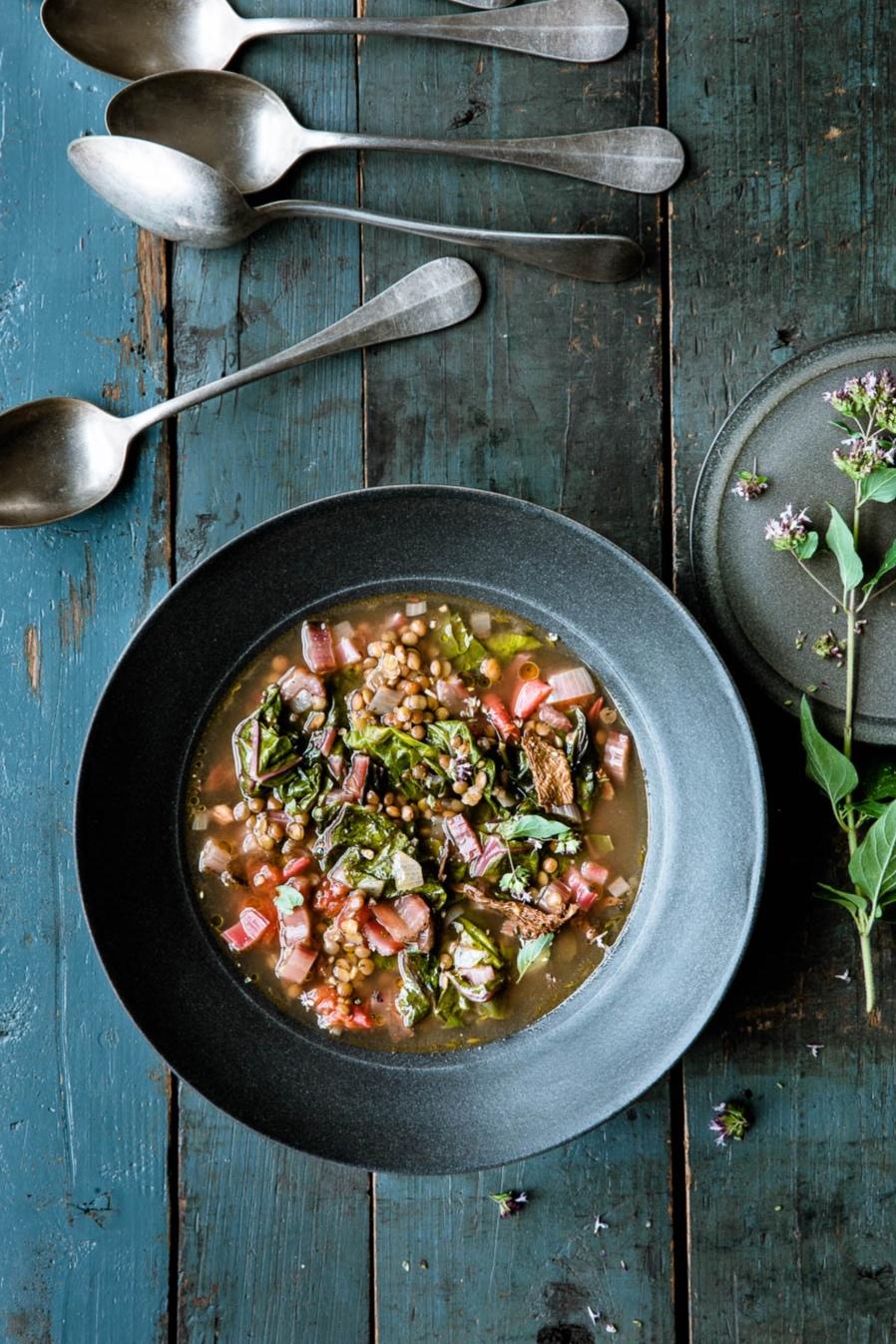 Mangold-Linsen-Suppe- veggielicious | gemüse. fotos. rezepte.