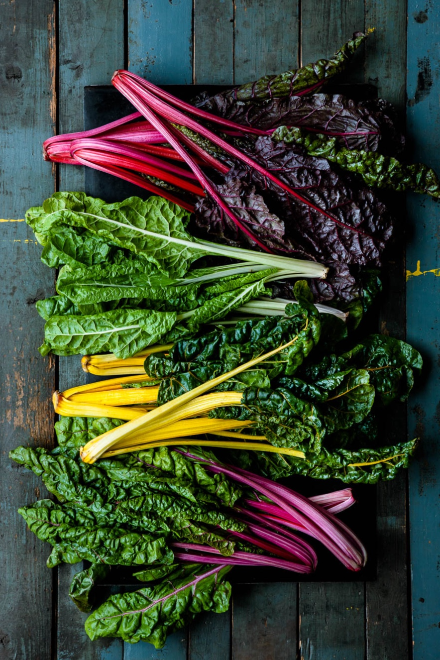 Mangoldvielfalt in allen Farben. - veggielicious | gemüse. fotos. rezepte.