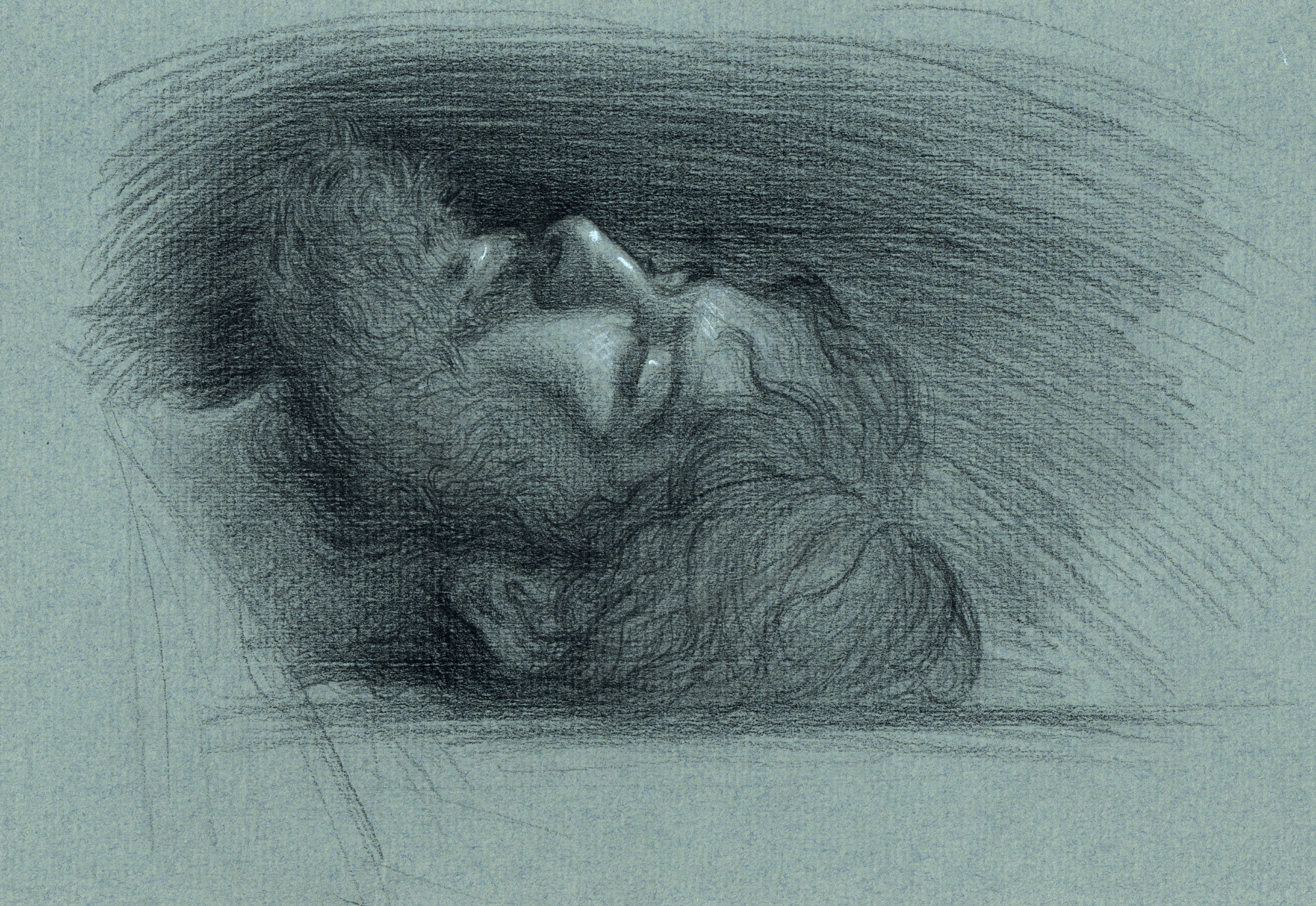 Study for  Christ in the Tomb
