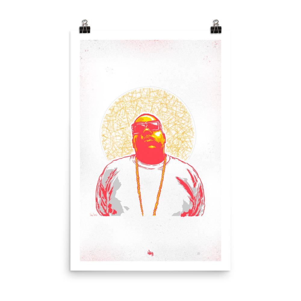 'Biggie' Portrait Illustration