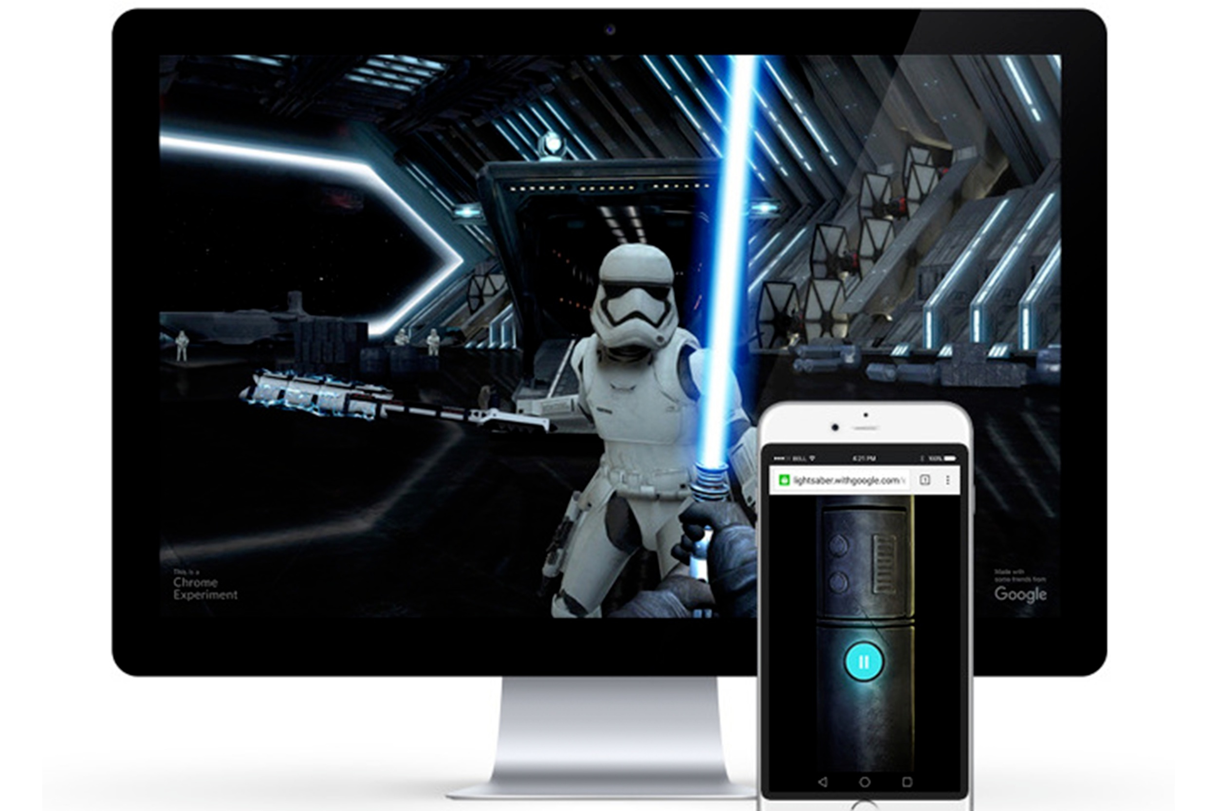 Bringing Star Wars to life through Google platforms & products - GOOGLE x STAR WARS | Mobile App, VR & Communications Design