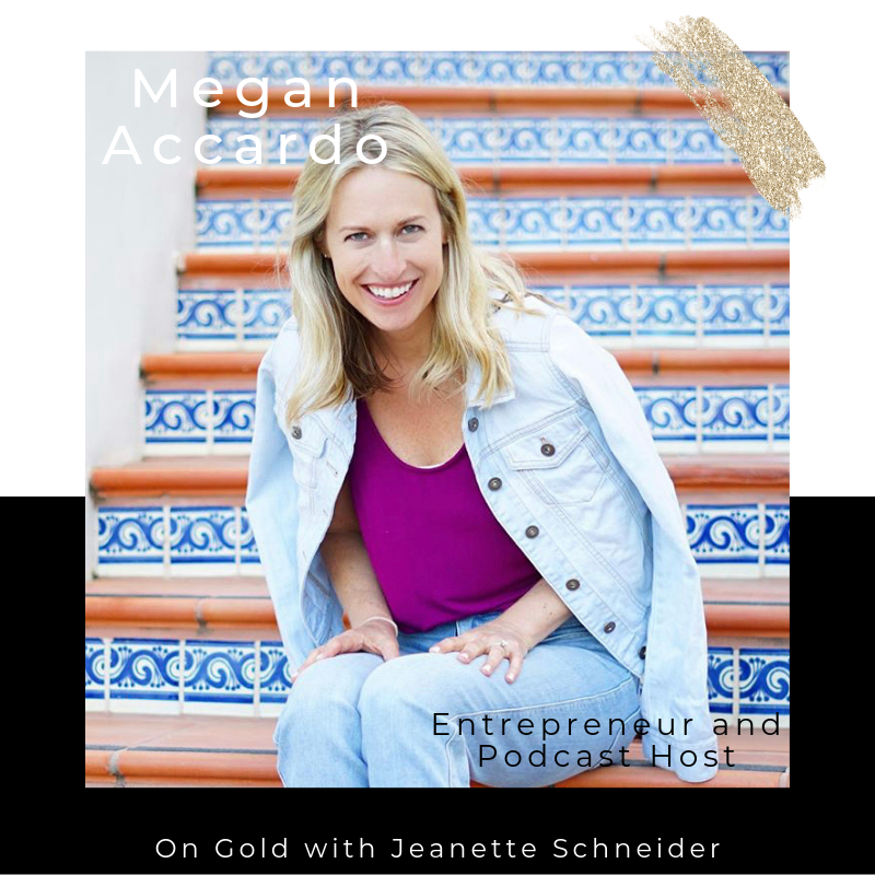 Listen to my guest episode on GOLD with Jeanette Schneider - We chat about the hard decision to leave a comfortable job to find your passion, wrestling with identity, and the birth of impact. LISTEN HERE!