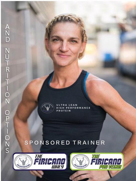 Karin Romanowski  Trainer at Spinbox by firicano & firicano boxing & Fitness center  favorite protein: The firicano whey-vanilla   @karinr0m0   promo code: Karin