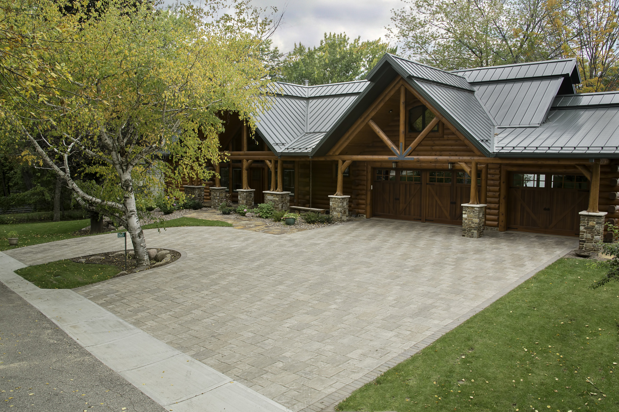 Unilock award for best driveway in Madison WI