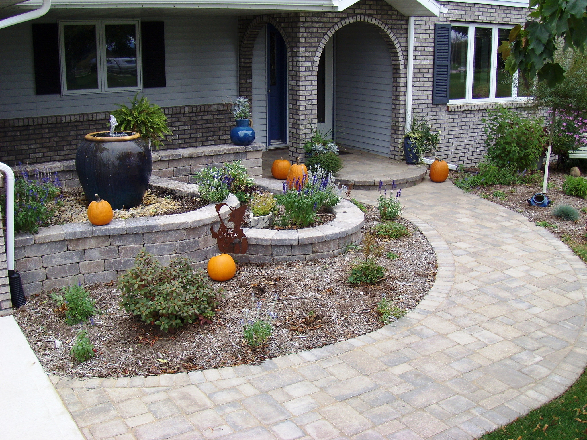 Brick pavers for walkway in Madison WI
