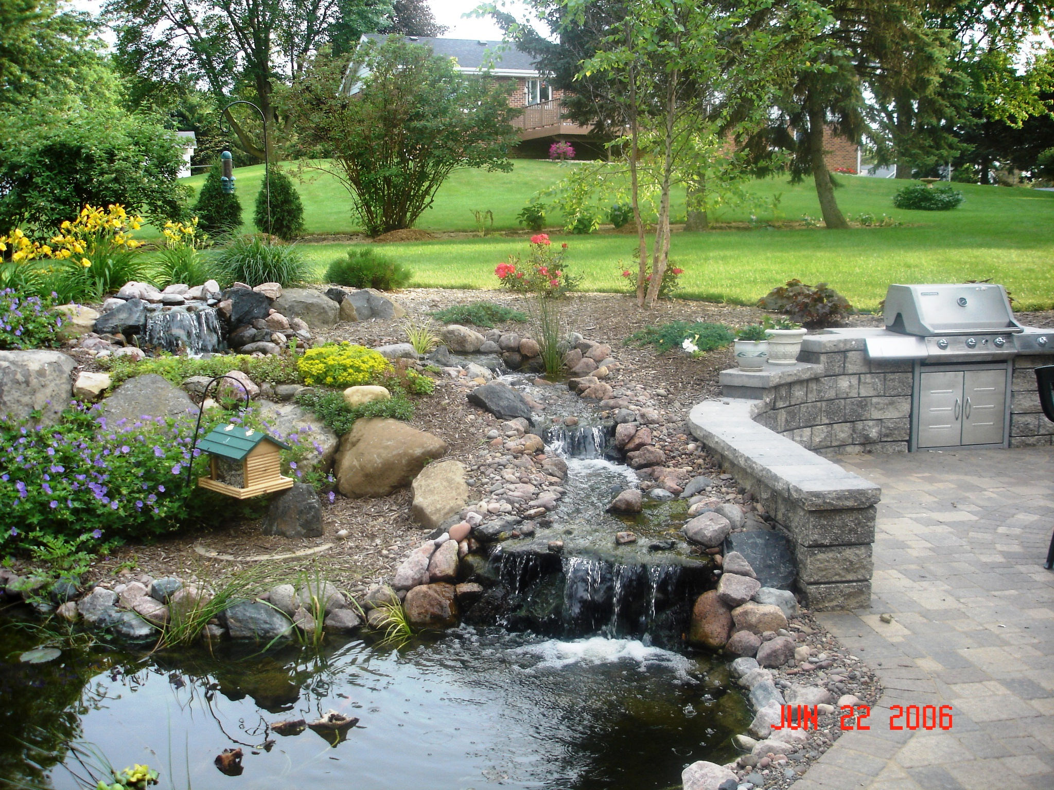 Madison WI top plantings and water features