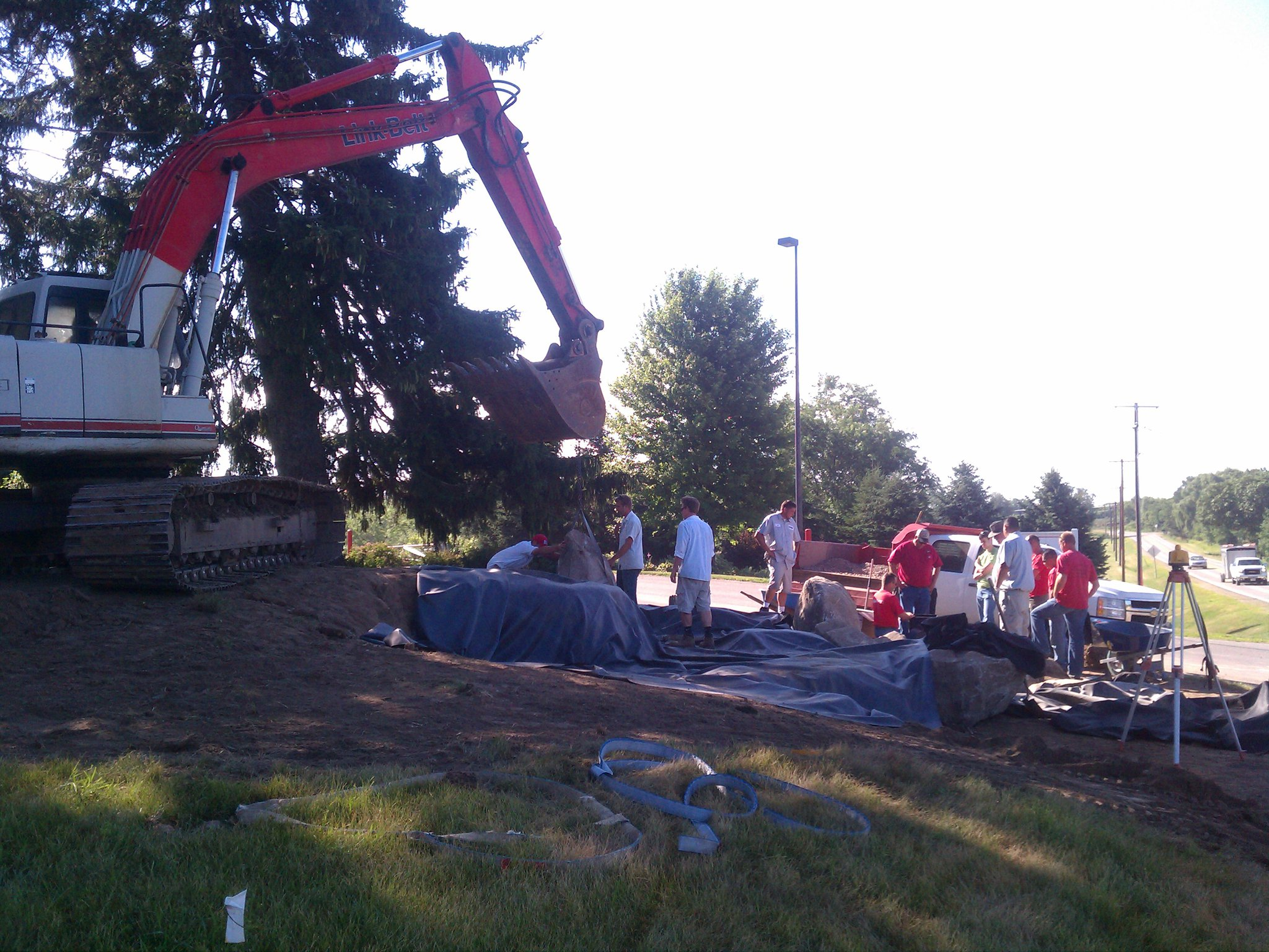 Excavation and grading landscaper in Madison WI