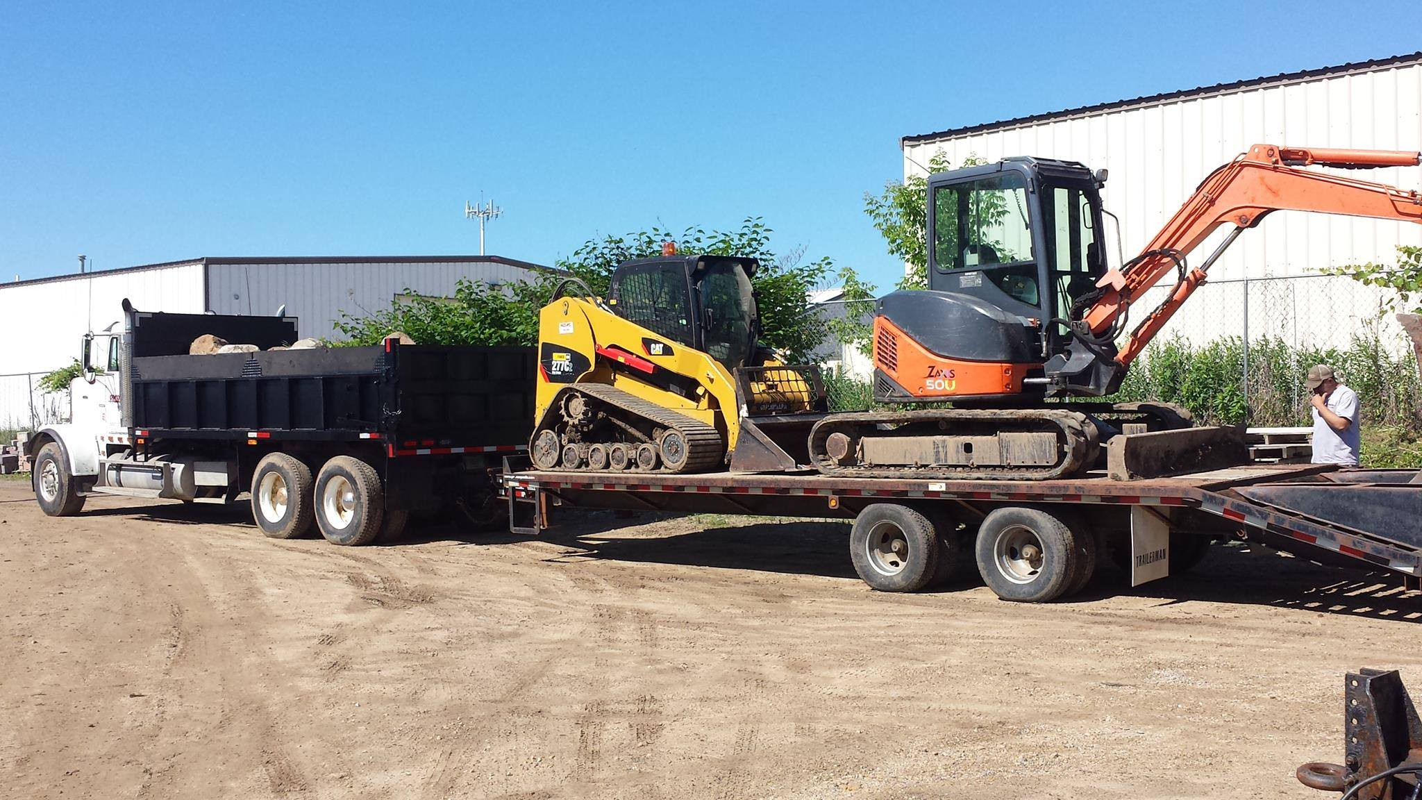 Madison WI top landscaping company for excavation and grading