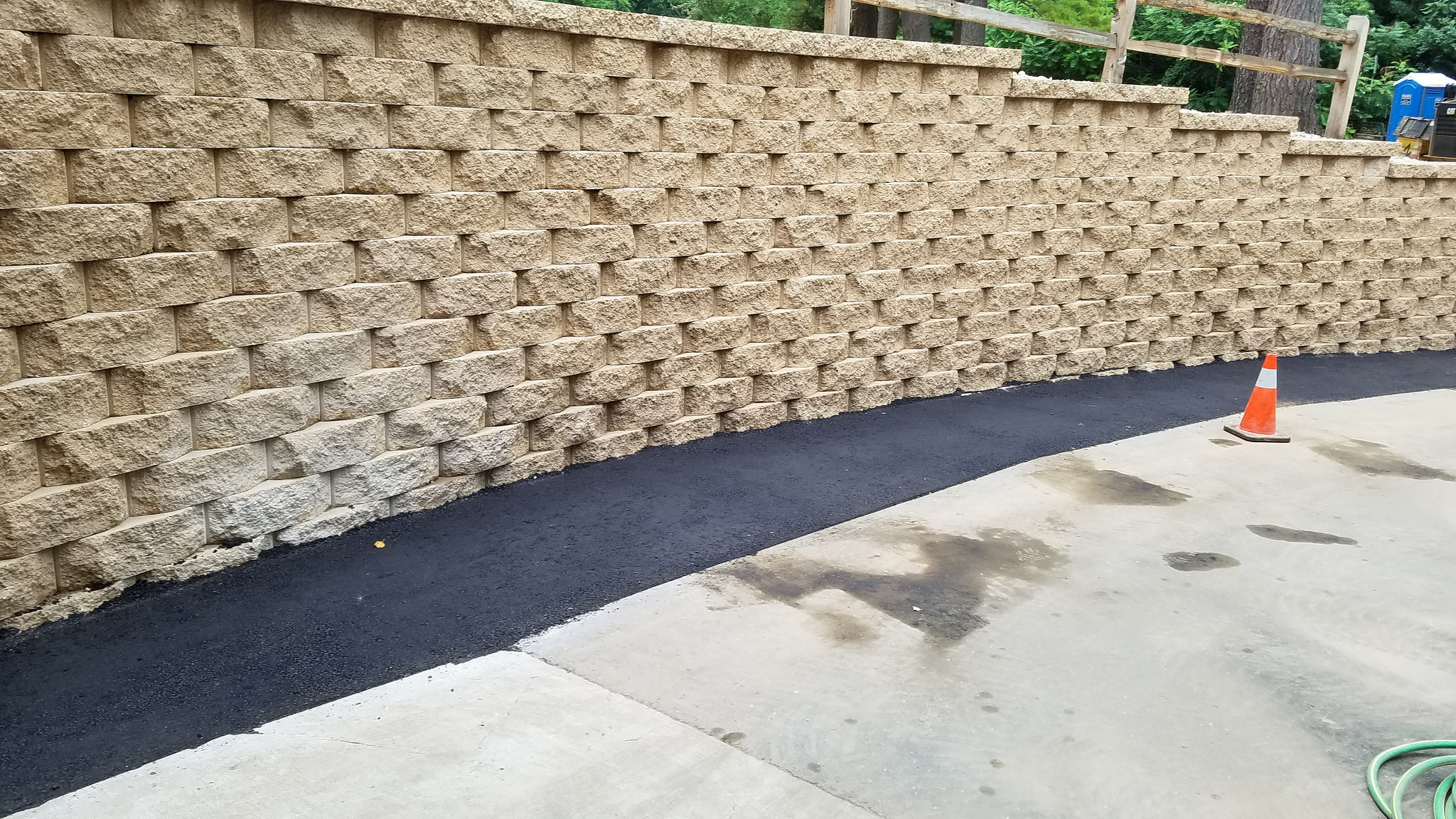 Stunning retaining wall in Madison WI