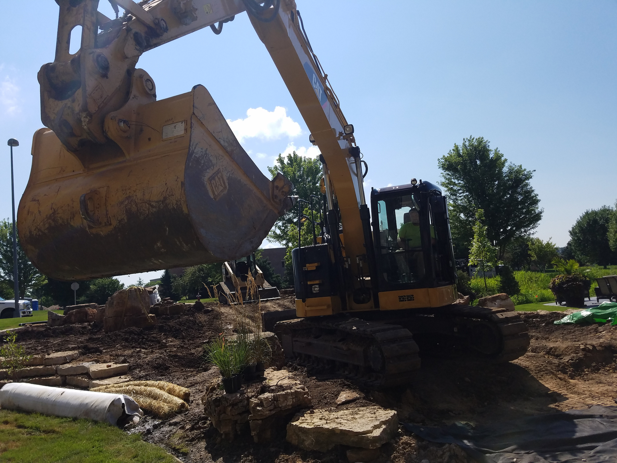 Landscaper with experience in excavation in Madison WI