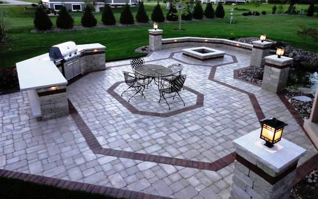 An Authorized Unilock® Installer can design AND build your dream patio