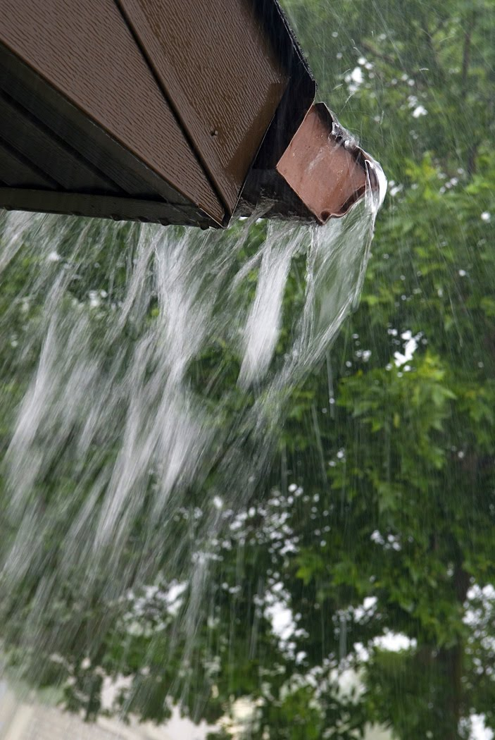Summertime downpours can overwhelm gutters spilling gallons of water in the wrong places. Correct site drainage ensures it drains away without serious damage.