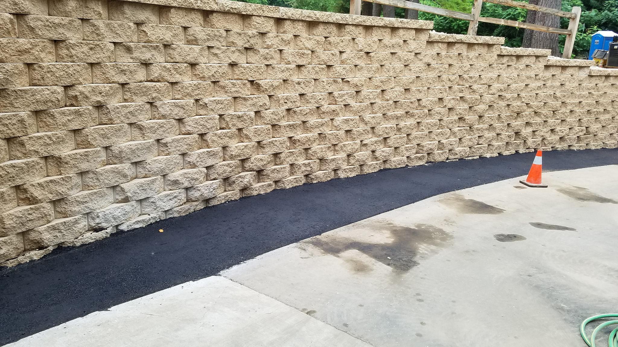 Unilock Contractor - retaining wall in Monona, WI