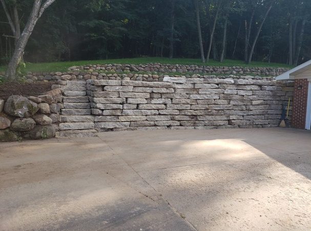 How Retaining Walls Can Help Control Your Sloped Landscape in Monona, WI