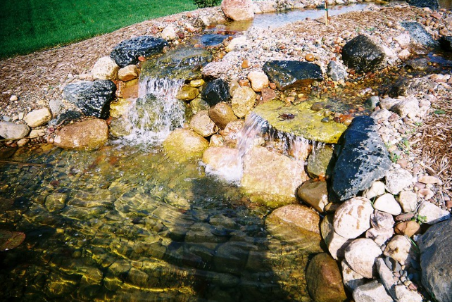 What Goes Into Building an Outdoor Commercial Pond in Middleton, WI