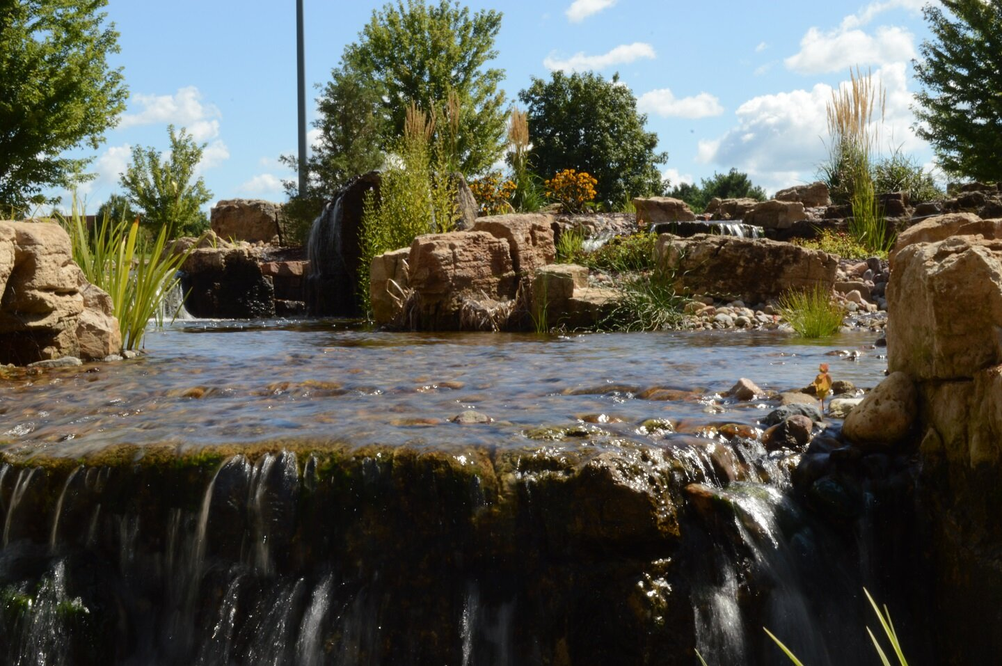 Landscapers near me with top pond in McFarland WI