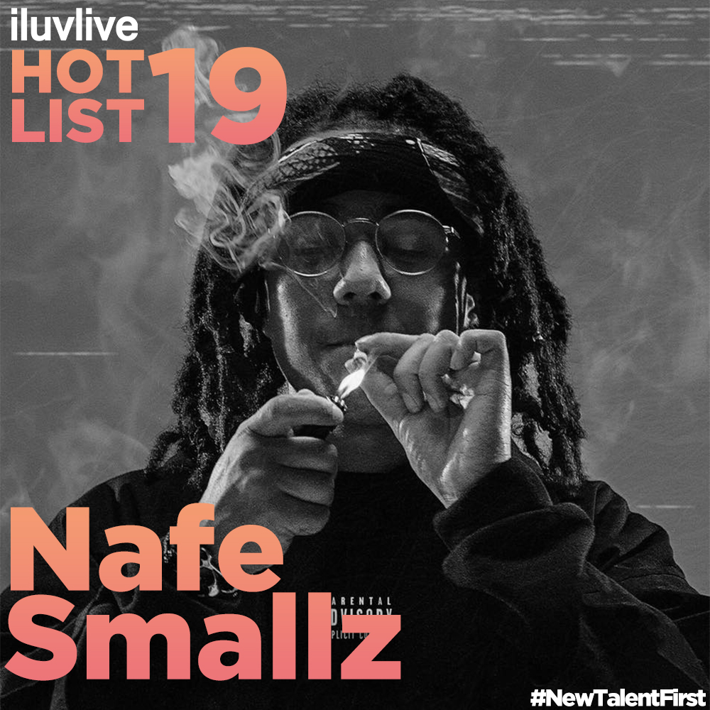 Nafe Smallz   Nafe is known for creating a distinct sound and continues to defy genres with his unique vocal style proving him to not only be a credible rap artist but a melodic vocalist too. In early 2016 at just 19, he supported US superstar Future on his UK tour. He then opened up for both Rich Homie and Migos at their London shows. Nafe then closed 2016 by being one of the only support acts to open up for Skepta at Alexandra Palace. In 2017 Nafe's promising movements continued during his joint show with Toronto rapper Smoke Dawg - where in an iconic moment for the UK rap scene Drake made a surprise appearance at their gig in XOYO, Shoreditch.