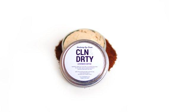 Lavender Coffee Eye Cream by CLN&DRTY