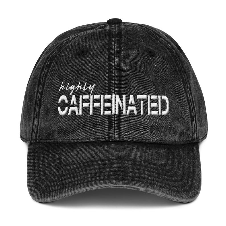 Highly Caffeinated Hat by Motto + Fleur