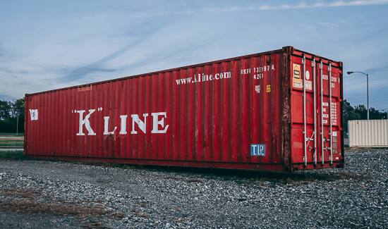40 ft. Container