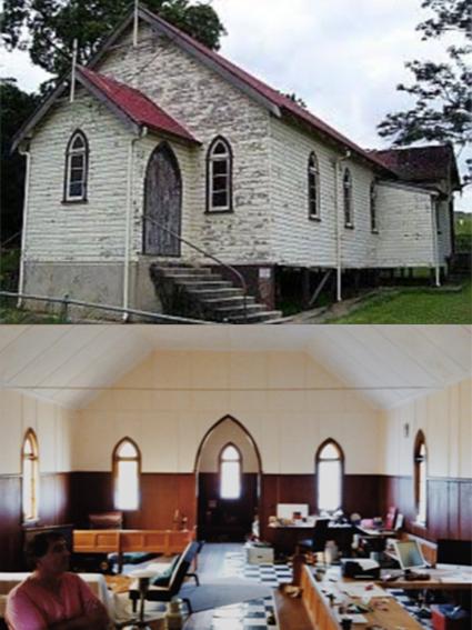 Church Farm Before