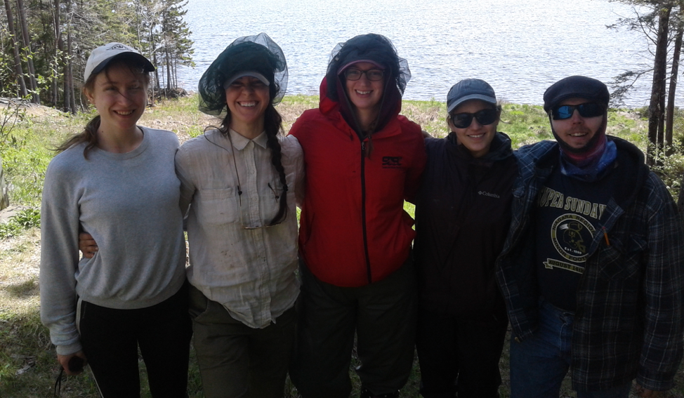 Undergraduate and graduate students involved in the  NSERC Strategic  May 2018 field campaign in Nova Scotia. This is a multi-university project with collaborators from MtA, Acadia, Queen's, Dalhousie, and Ottawa.