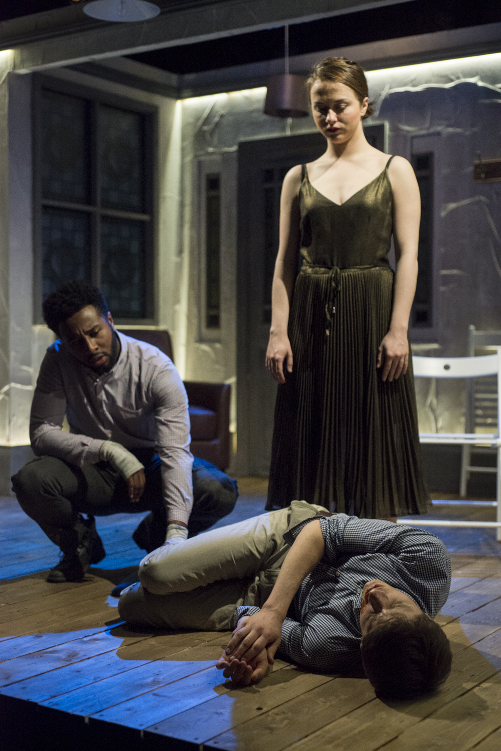 Escape the Scaffold, Theatre 503, with Rosie Sheehy and Marcus Reston.