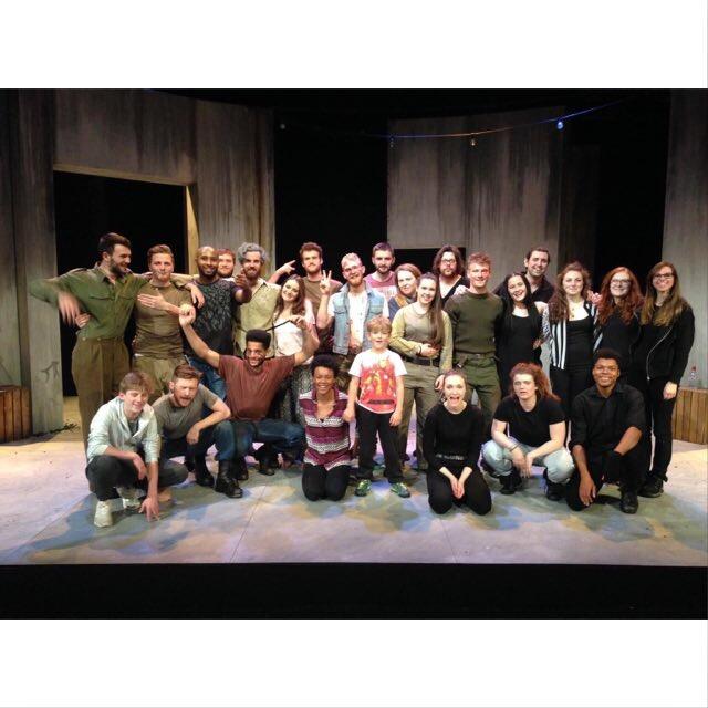 Macbeth cast / LAMDA alumni.
