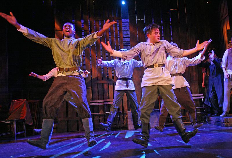 As Fyedka in Fiddler on the Roof.