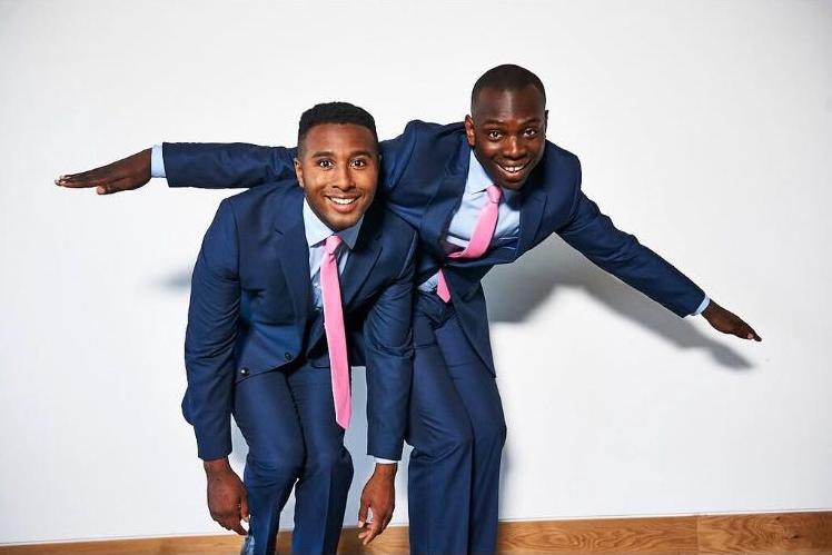 Trieve Blackwood-Cambridge and Kayode Ewumi.