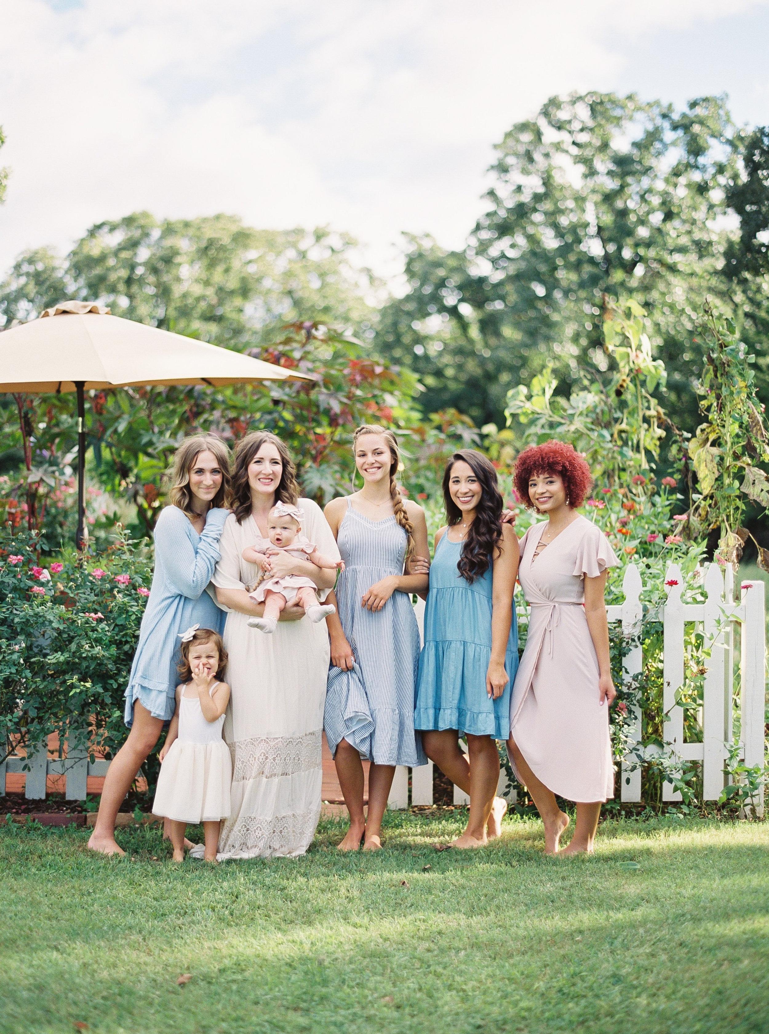 Models: Courtney Ramsey, Kaleigh Bishop, Sasha LeBlanc, Taylor Marie, and Hosanna Morris