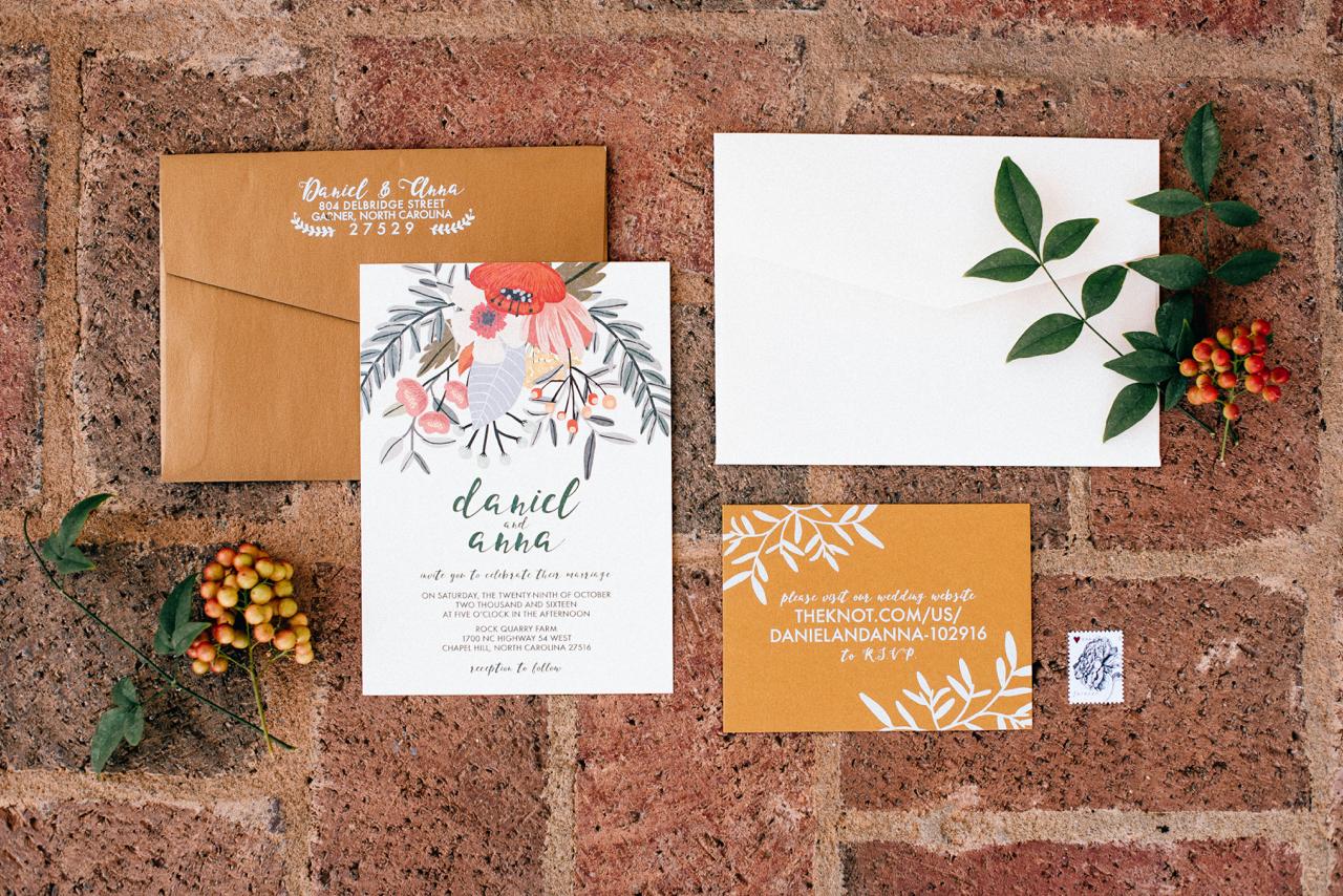 dan & anna's invitations