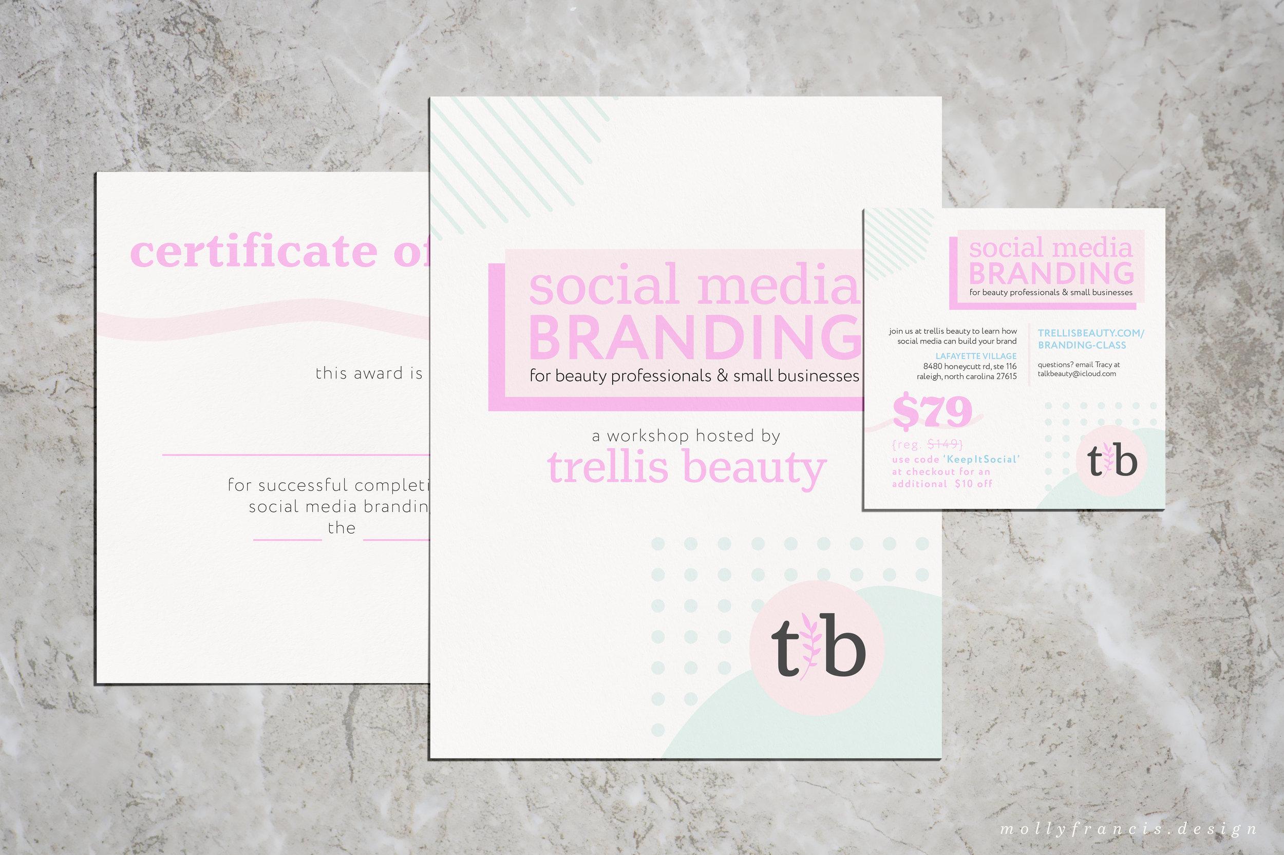social media branding class