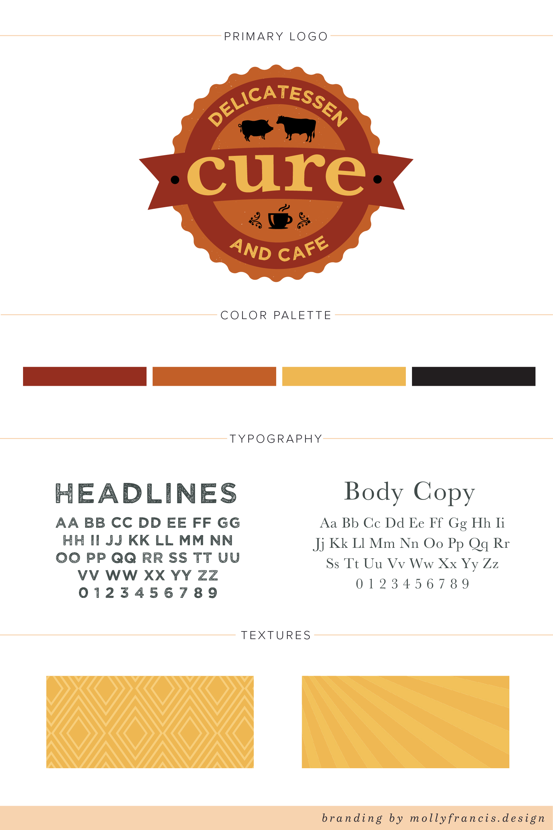 cure brand identity