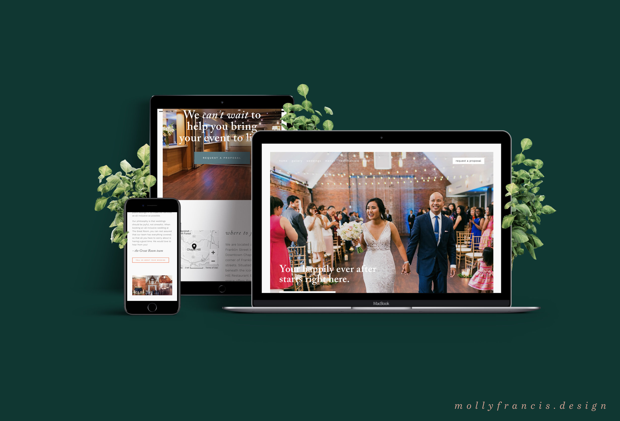 the great room website