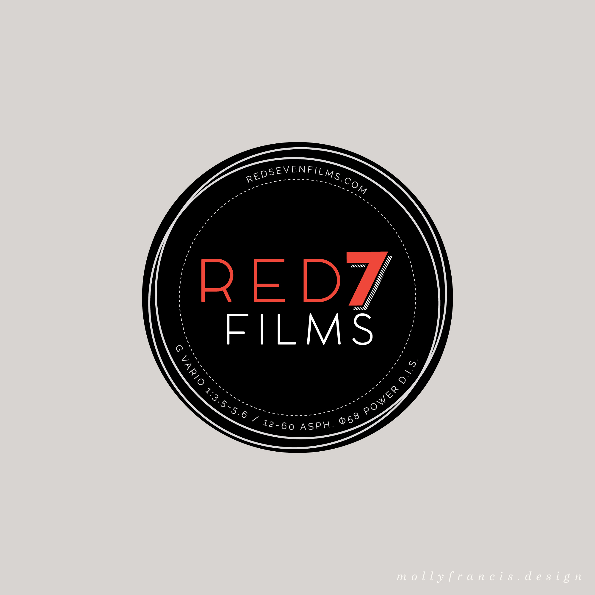 red 7 films logo
