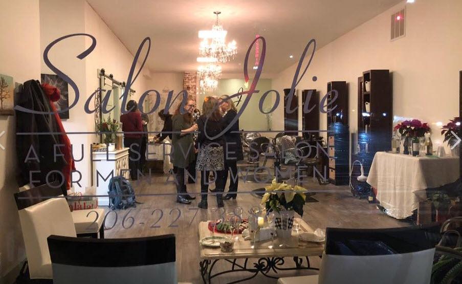 Salon Jolie Home & Menu
